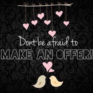 💕🛍I LOVE Reasonable Offers!!💕🛍👗👠